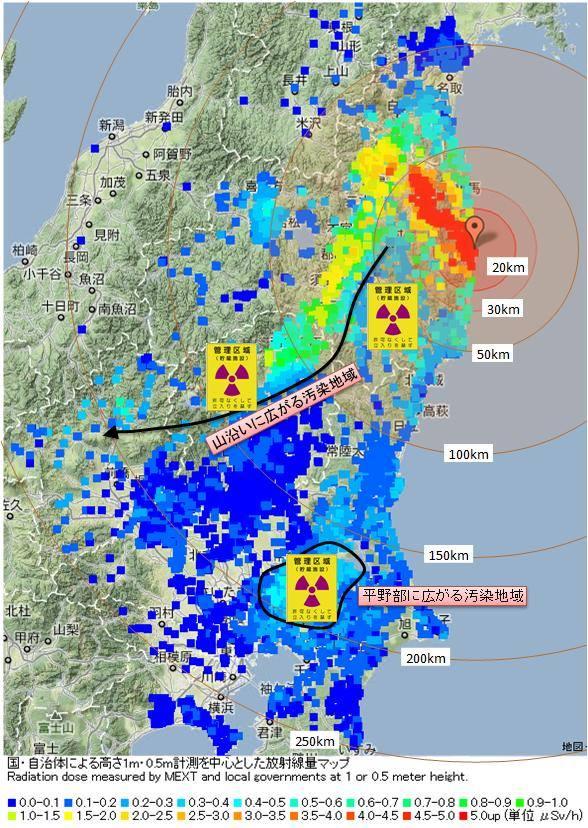 福島県ホームページ - 水・食品等の放射性 ...